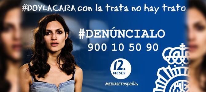 """Mediaset y 2Management """"dan la cara"""" contra la trata de personas"""