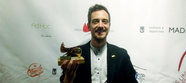 Rubén Frías, premio Unión de Actores y Actrices al Mejor Actor de Reparto por «Danzad, malditos»