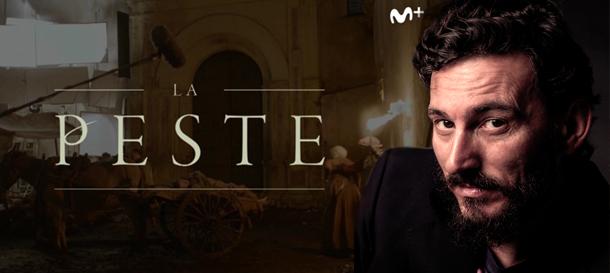 Óscar Corrales en La peste, serie original de Movistar Plus