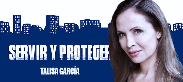 Talisa García en la serie de TVE Servir y Proteger | Temporada 4