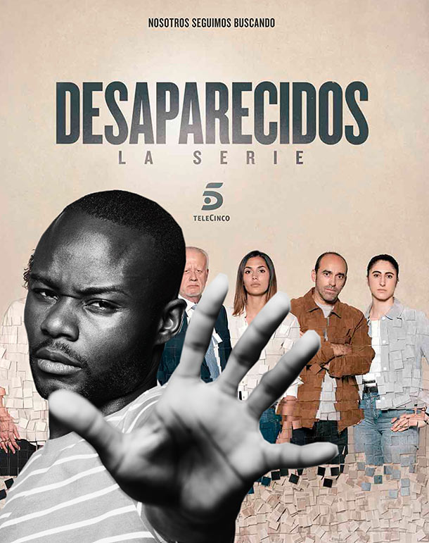 Janick, nuevo fichaje de la serie DESAPARECIDOS de Mediaset